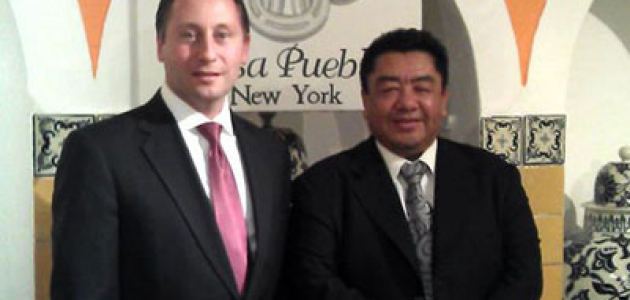 Robert P. Astorino en Casa Puebla New York