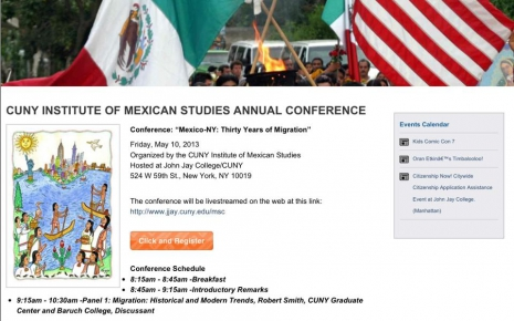 CUNY Institute Of Mexican Studies Annual Conference